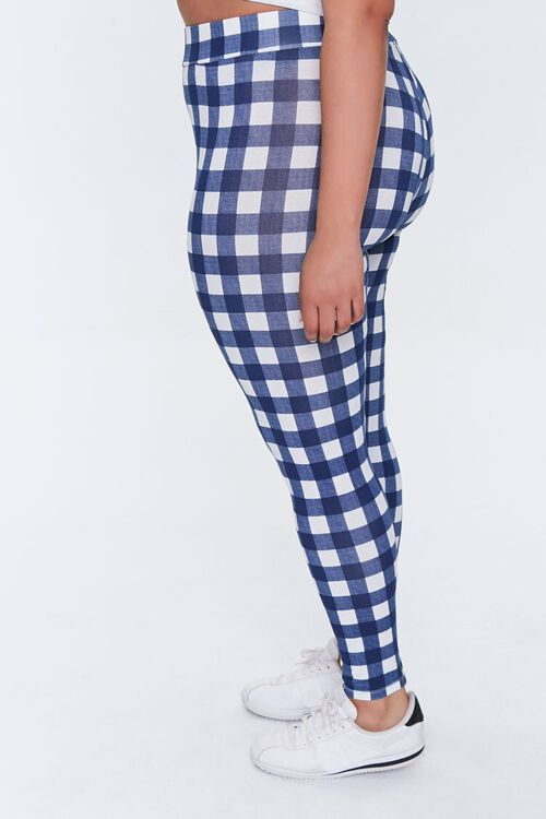 Plus Size Gingham Leggings, image 3