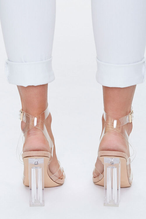 Vinyl Ankle-Strap Heels, image 4