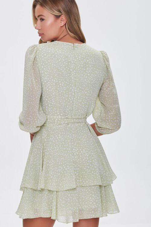 Dotted Chiffon Mini Dress, image 3