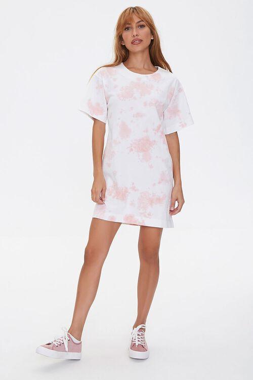 Tie-Dye Cutout T-Shirt Dress, image 5