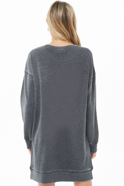 Marled Sweatshirt Dress, image 3