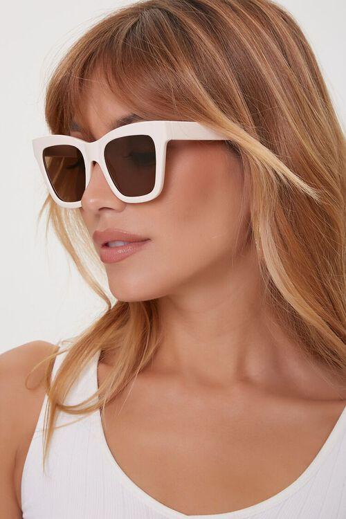Square Cat-Eye Tinted Sunglasses, image 1
