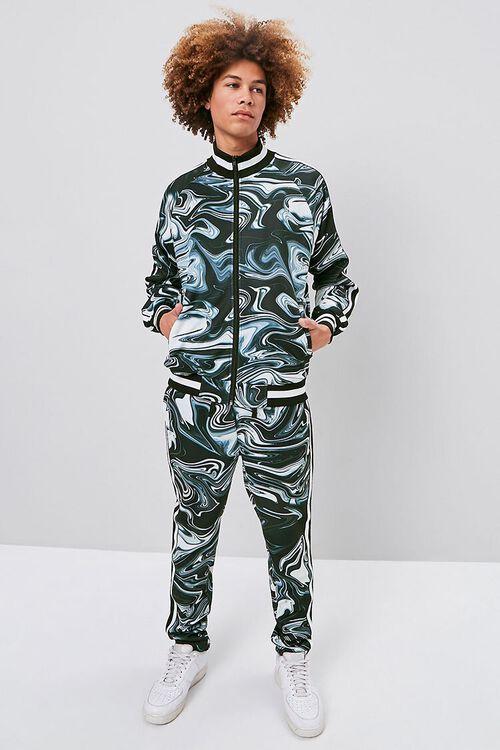 Abstract Print Bomber Jacket, image 4