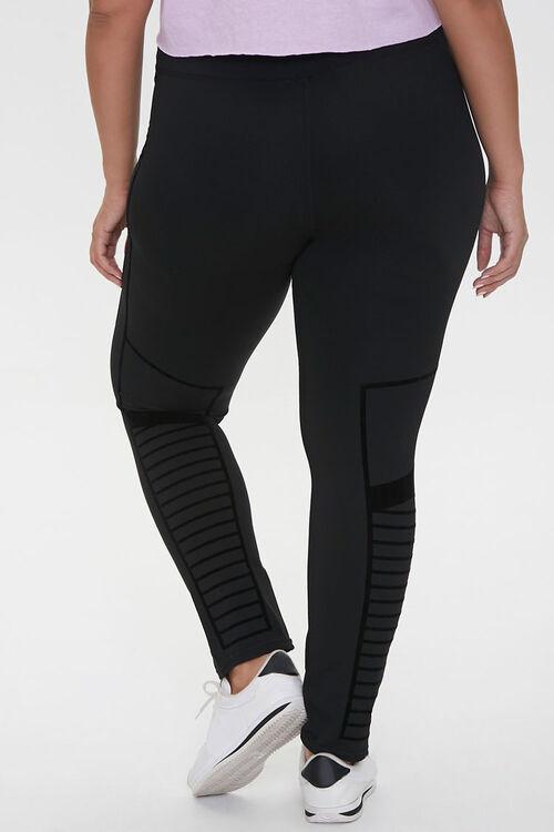 Plus Size Active Monochrome Leggings, image 4