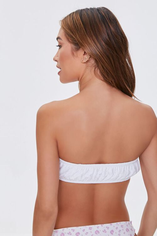Pointelle Bralette Bikini Top, image 3