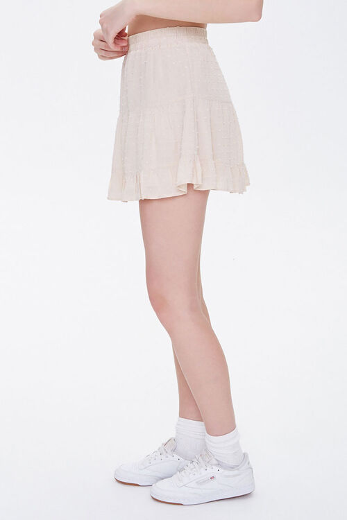 Clip Dot Tiered Mini Skirt, image 3