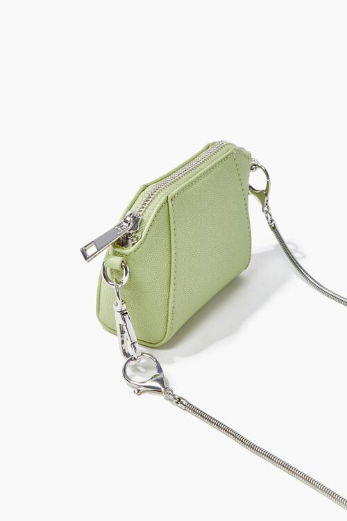 MINT Faux Leather Crossbody Bag, image 2