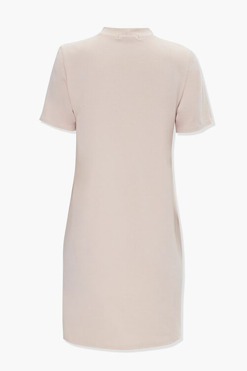 Shoulder Pad Shirt Dress, image 3