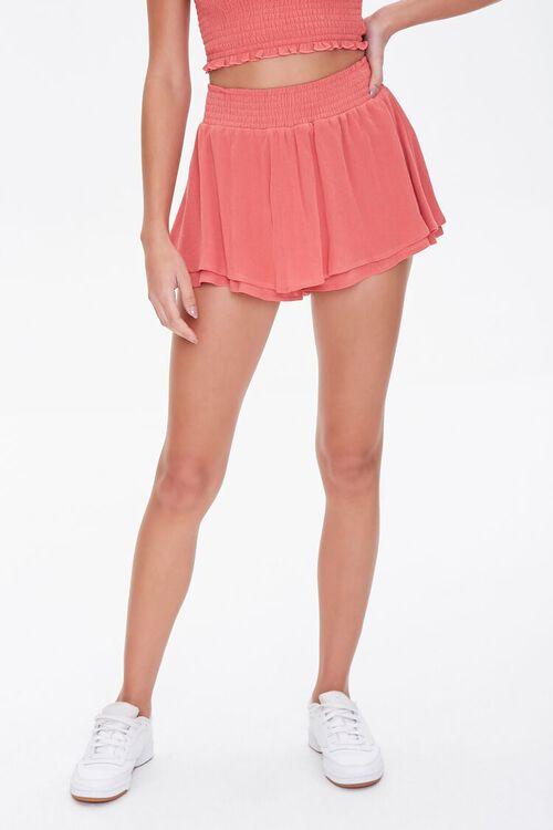 Layered Flounce Mini Skirt, image 2