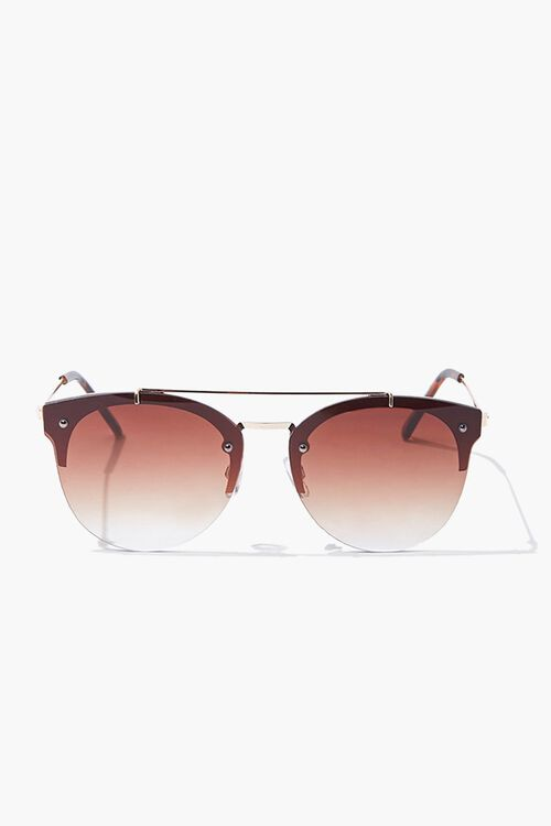 Round Metal Sunglasses, image 1