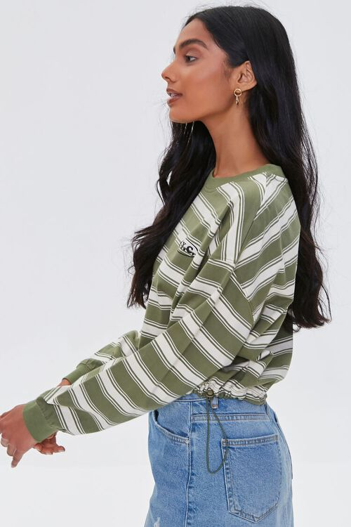 NYC Graphic Striped Pullover, image 2