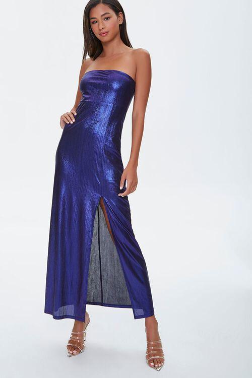 Metallic Maxi Dress, image 4