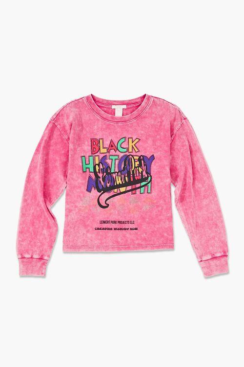 Girls Ashley Walker Black History Pullover (Kids), image 1