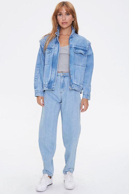 ACID DENIM Layered Denim Jacket, image 4