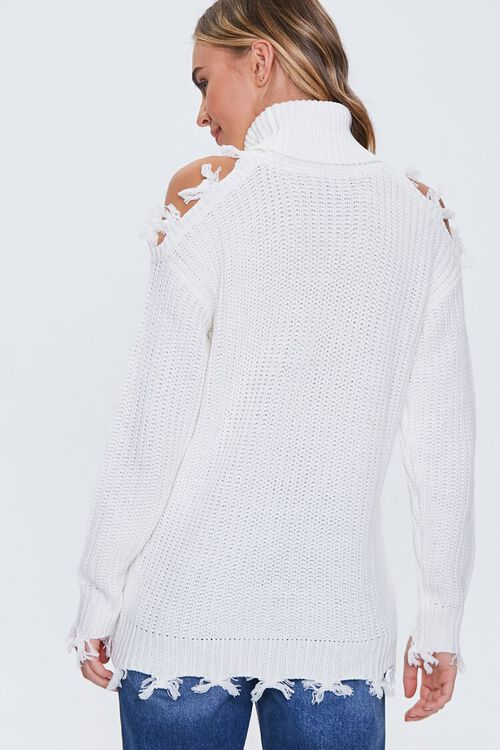 Open-Shoulder Turtleneck Sweater, image 3