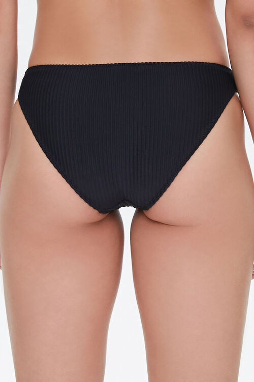Ribbed Low-Rise Bikini Bottoms, image 4