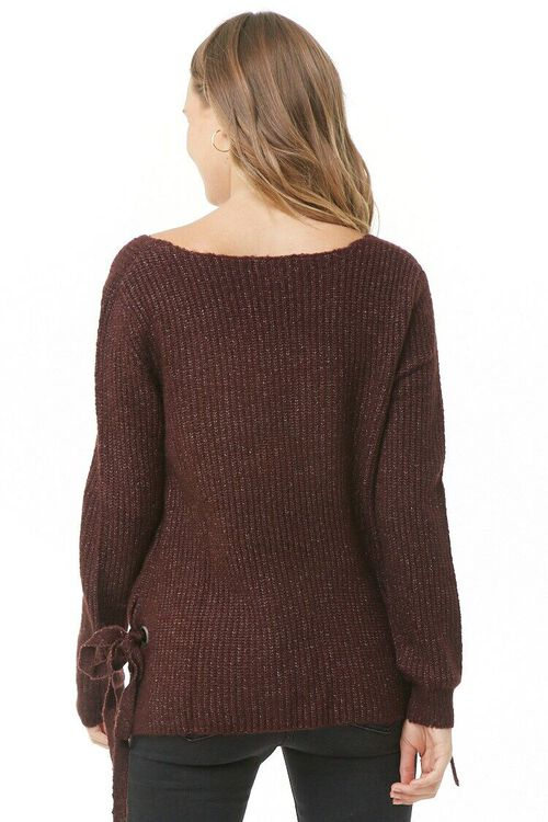 PLUM Vented Marled Knit Sweater, image 3