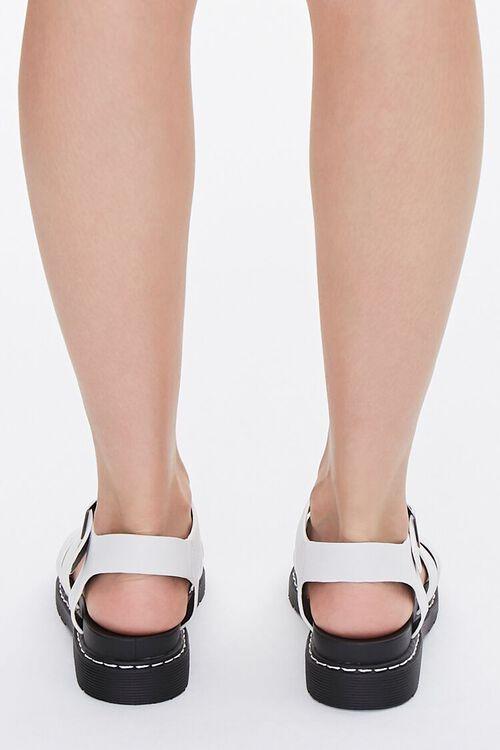 Caged Platform Sandals, image 3
