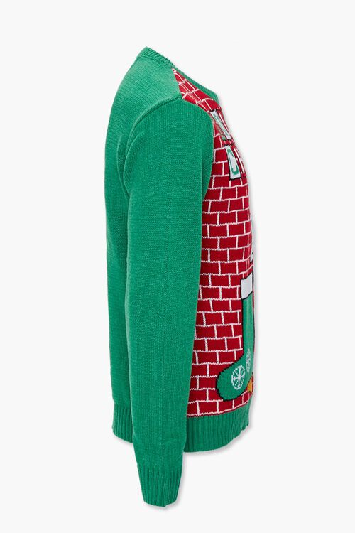Holiday Cheers Graphic Knit Sweater, image 2