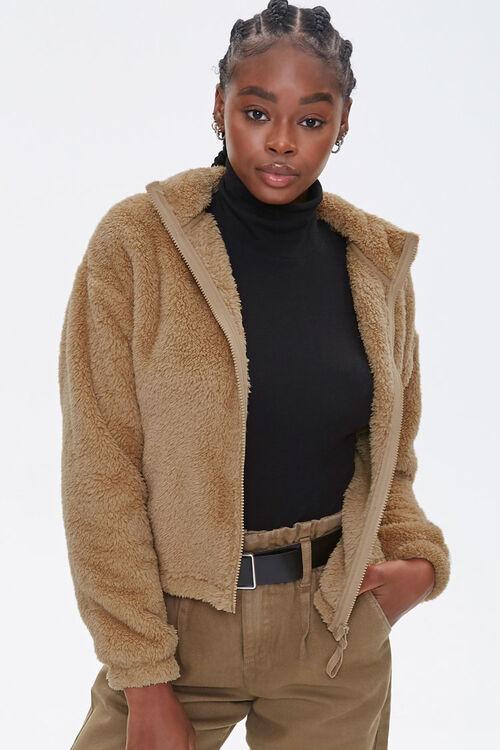 Plush Drop-Sleeve Jacket, image 5