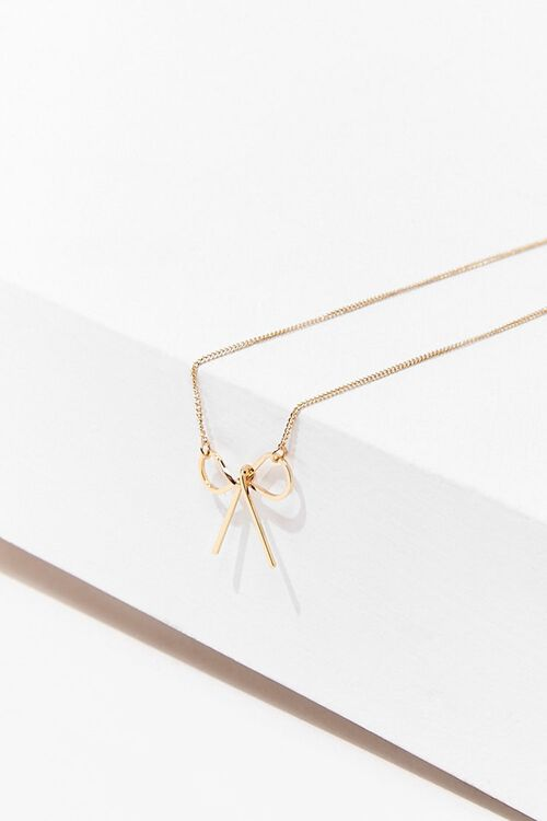 Bow Pendant Necklace, image 2