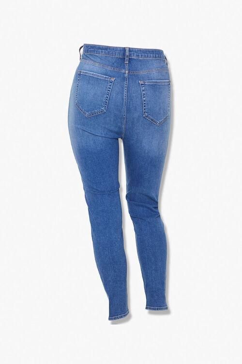 Plus Size Sculpted Super Skinny Jeans, image 3