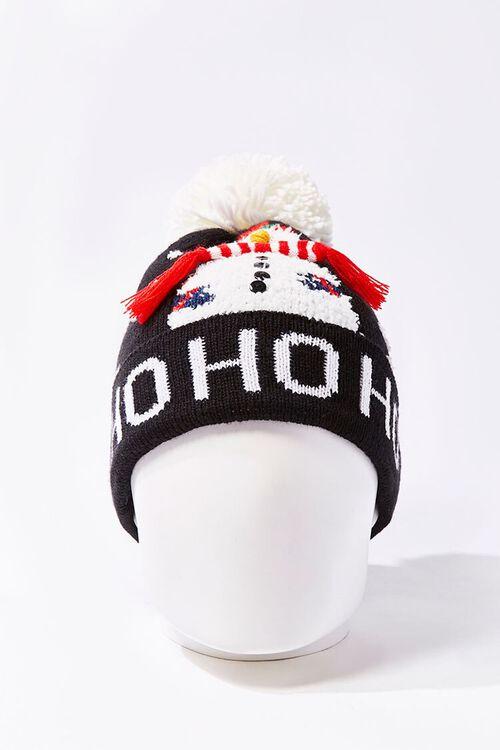Ho Ho Ho Snowman Beanie, image 3
