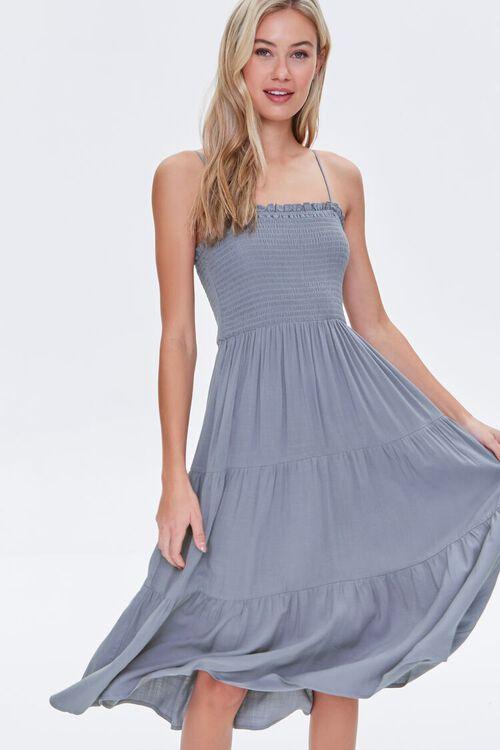 Smocked Cami Dress, image 1