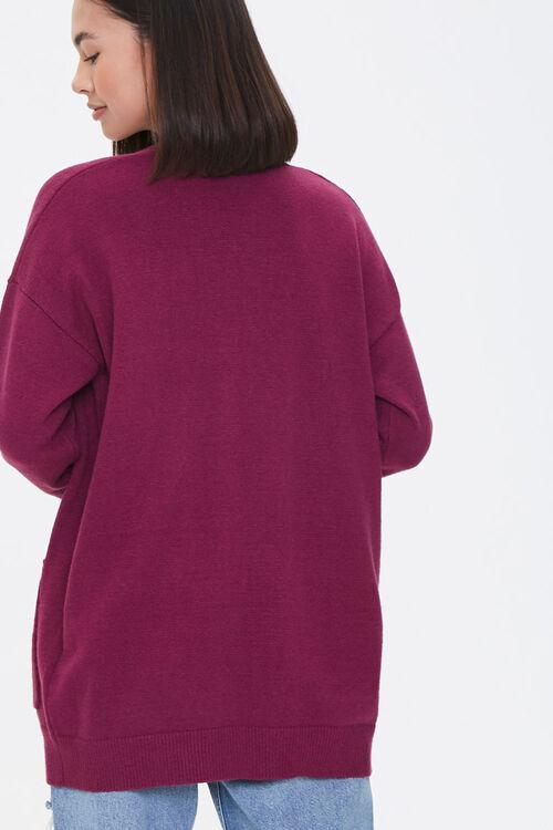 Drop-Sleeve Cardigan Sweater, image 3