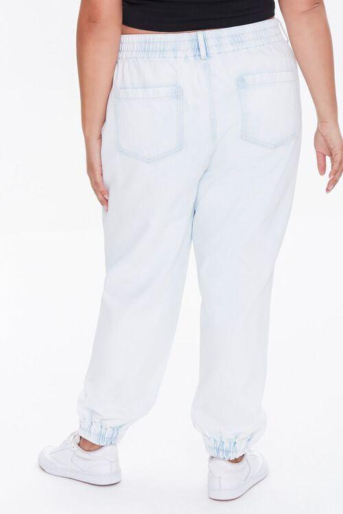 Plus Size Denim Joggers, image 4