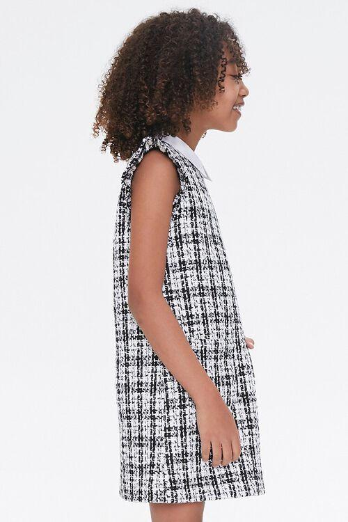 Girls Tweed Mini Dress (Kids), image 2