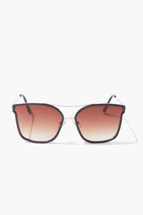 Square Metal Sunglasses, image 1