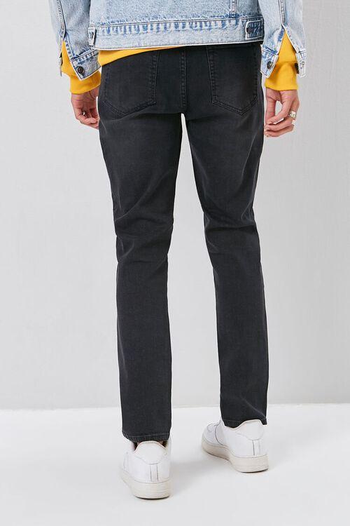 Moto-Panel  Distressed Skinny Jeans, image 4