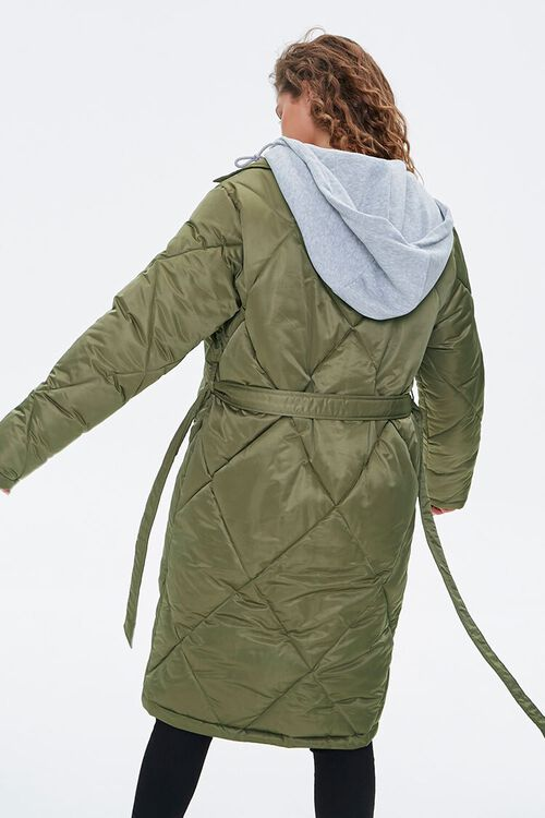 Longline Quilted Puffer Jacket, image 4