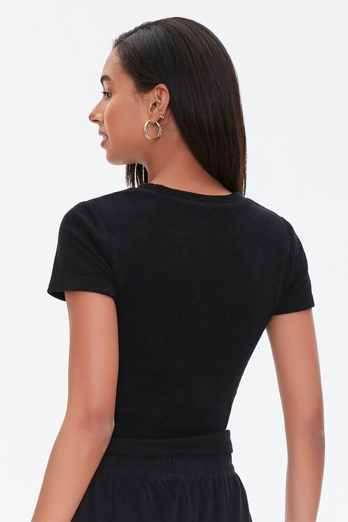 Textured Cropped Tee, image 3