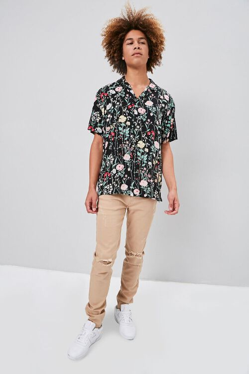 Floral Print Buttoned Shirt, image 5