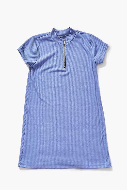 Girls Half-Zip Dress (Kids), image 1