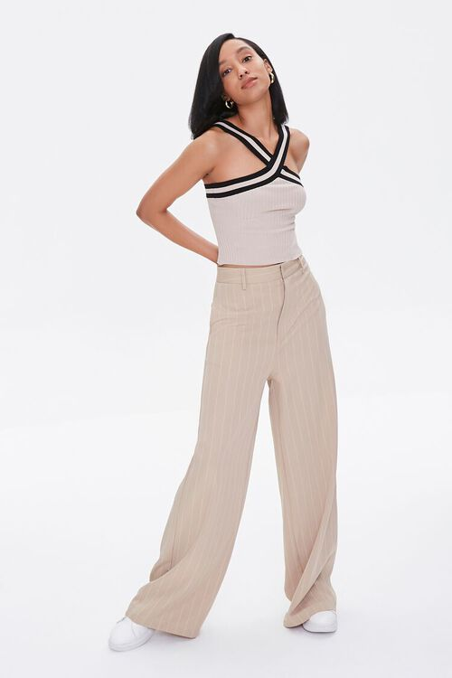 Sweater-Knit Halter Top, image 4