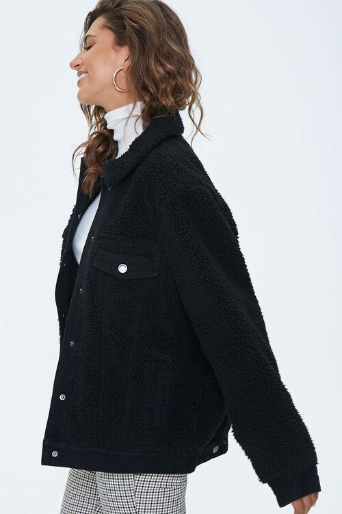 Denim & Faux Shearling Jacket, image 2