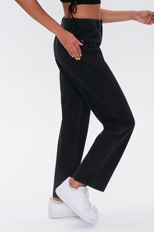 High-Rise Straight-Leg Jeans, image 3