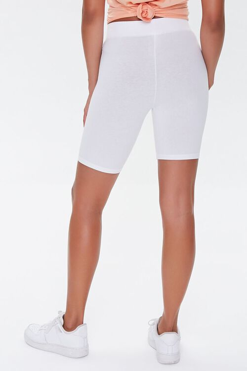 Cotton-Blend Biker Shorts, image 4