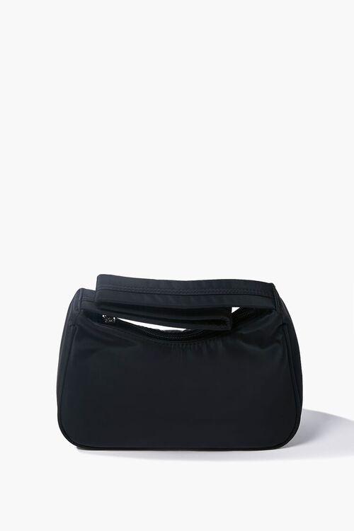 BLACK Zippered Shoulder Bag, image 1