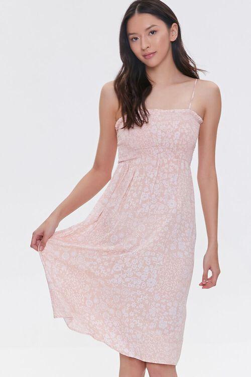 Tie-Strap Paisley Dress, image 1