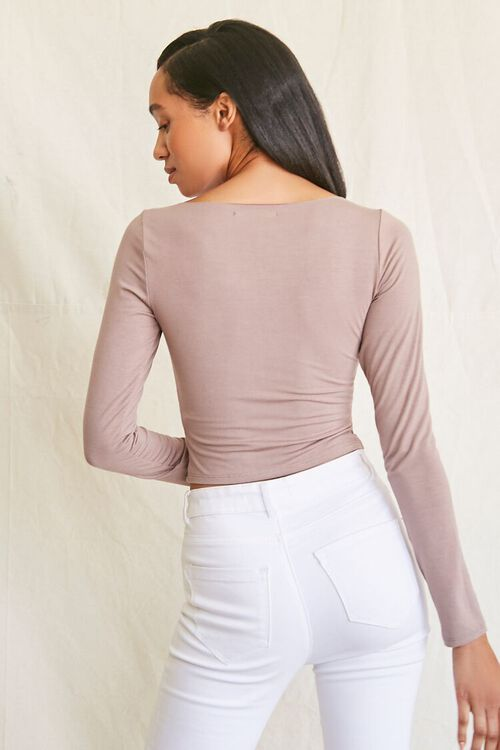 Asymmetrical Buttoned Top, image 3