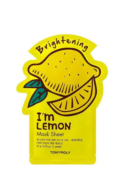 Im Lemon Sheet Mask – Brightening, image 1