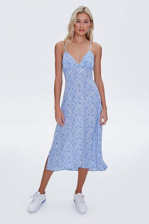 Floral Cami Midi Dress, image 3