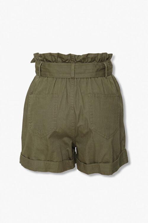 Sash Belt Paperbag Shorts, image 3