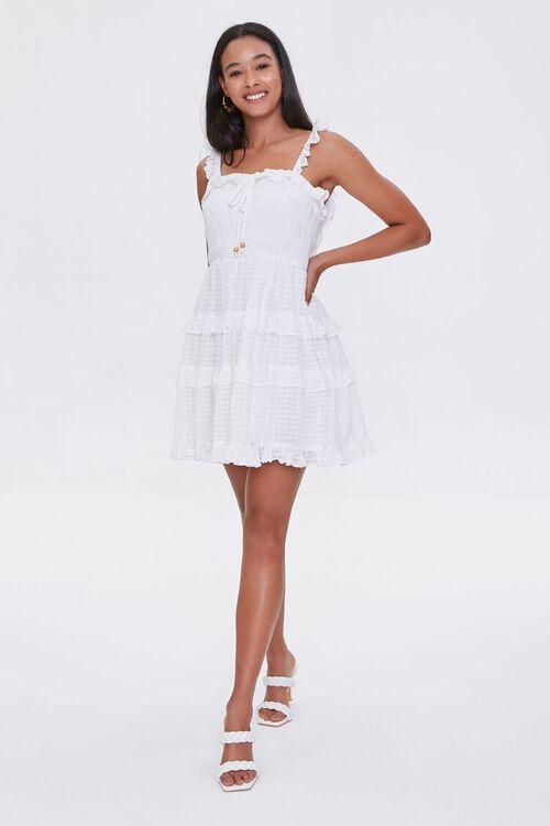 Ruffled Tiered Cutout Dress, image 4