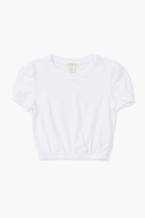 Girls Puff-Sleeve Top (Kids), image 1