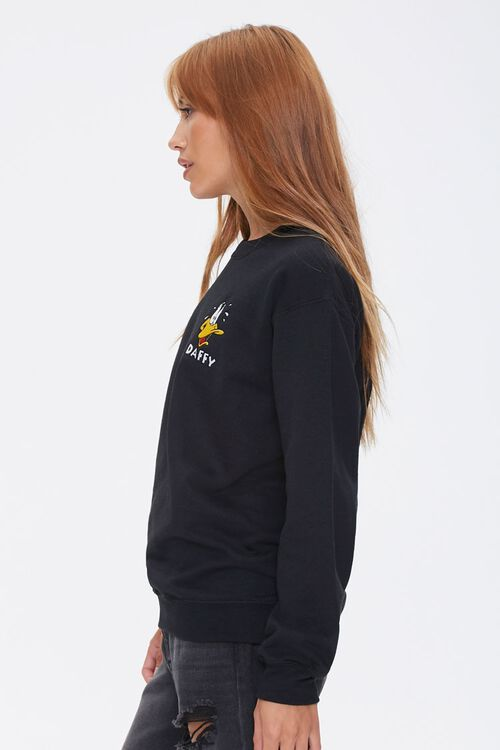 Daffy Duck Embroidered Graphic Pullover, image 2
